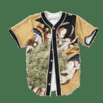 Dragon Ball Z Kamehame Kush Goku Cool Baseball Jersey
