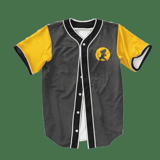 Dragon Ball Z Kid Goku Dope Kamehameha Symbol Baseball Jersey