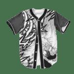 Dragon Ball Z Mad Picollo Manga Art Baseball Jersey