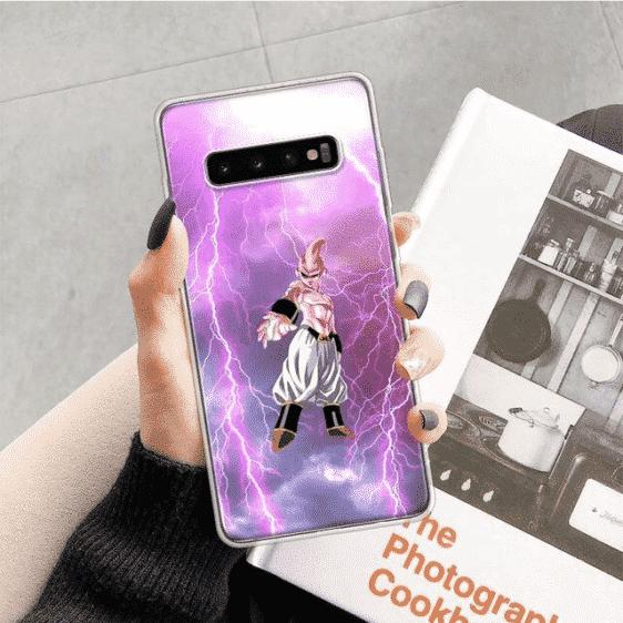 Dragon Ball Z Majin Buu Lightning Samsung Galaxy S10 Case