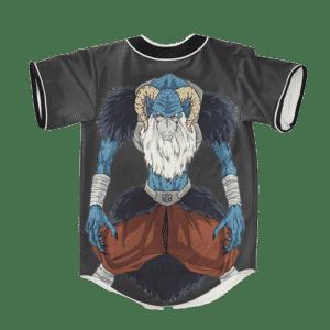 Dragon Ball Z Moro Art Dope Baseball Jersey