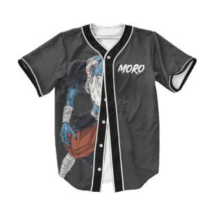 Dragon Ball Z Moro Art Dope Baseball Jersey