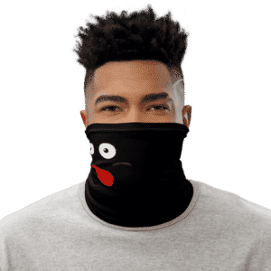 Dragon Ball Z Mr. Popo Funny Black Face Covering Neck Gaiter