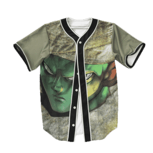 Dragon Ball Z Piccolo Wearing Weed Baseball Jersey