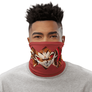 Dragon Ball Z Rycon Badass Red Face Covering Neck Gaiter