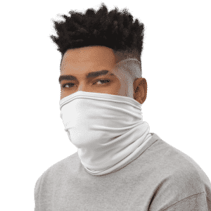 Dragon Ball Z SSJ3 Cabba Dope White Face Covering Neck Gaiter