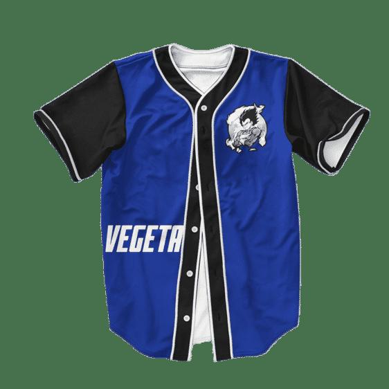 Dragon Ball Z Saiyan Vegeta Awesome Baseball Jersey