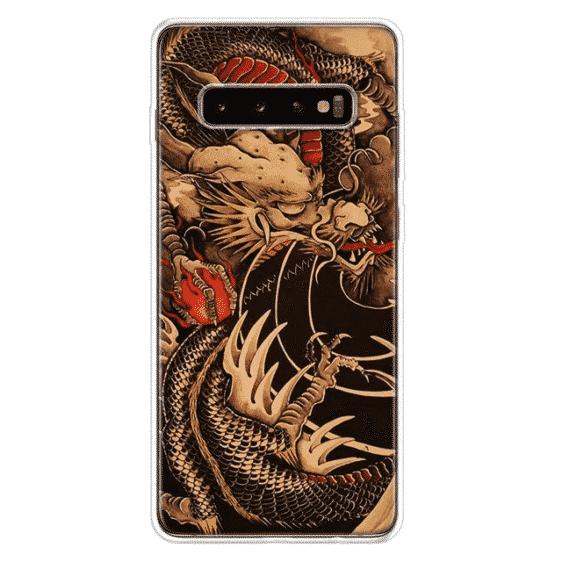 Dragon Ball Z Shenron Samsung Galaxy S10 Case