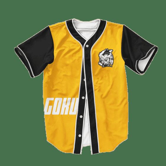 Dragon Ball Z Super Saiyan Goku Cool Baseball Jersey