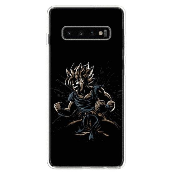 Dragon Ball Z Super Saiyan Rage Samsung Galaxy S10 Case