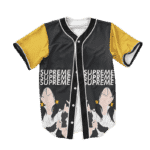 Dragon Ball Z Supreme Badass Videl Baseball Jersey