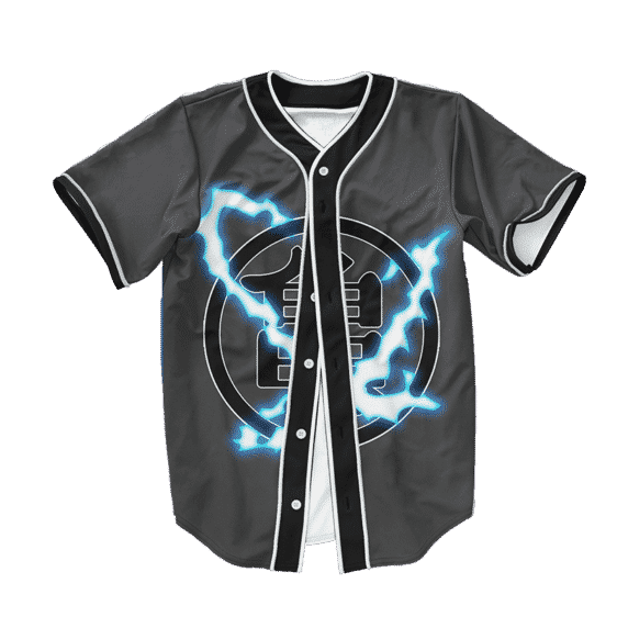 Dragon Ball Z Supreme Cool Goku Art Baseball Jersey