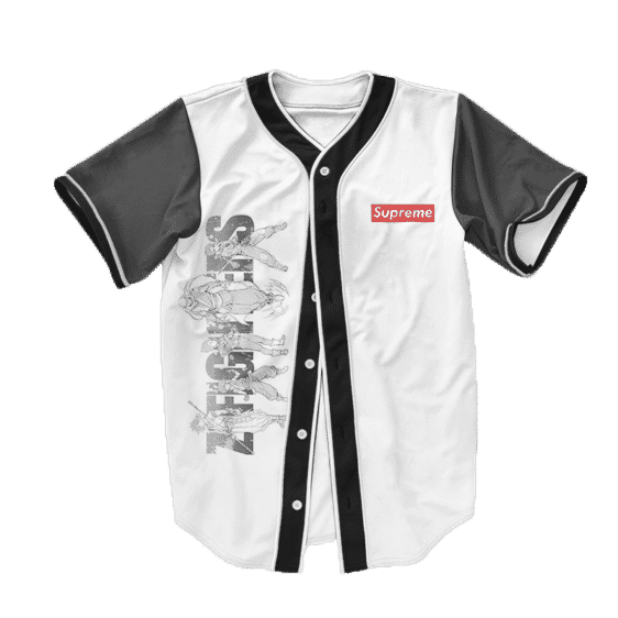 Dragon Ball Z Supreme Z Awesome Fighters Baseball Jersey