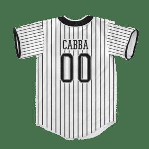Dragon Ball Z Universe 6 Cabba SSJ3 Dope Baseball Jersey