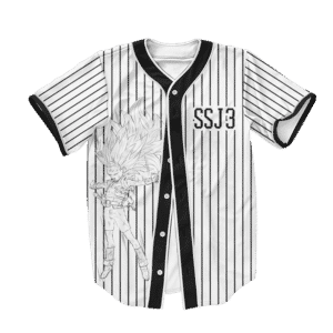 Dragon Ball Z Universe 6 Cabba SSJ3 Dope Baseball Jersey