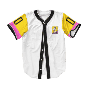 Dragon Ball Z Vegeta Playing Ball Art Baseball Jersey