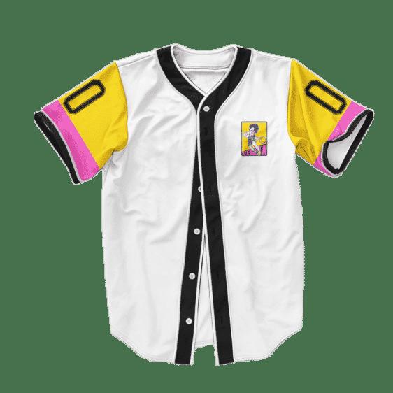 Dragon Ball Z Vegeta Playing Ball Art Baseball Jersey