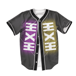 Dragon Ball Z Zeno Art Symbol Baseball Jersey
