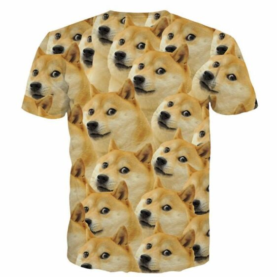 Funny Doge Meme Shiba Inu Japan Hunt Dog 3D Medium Version T-Shirt - Superheroes Gears