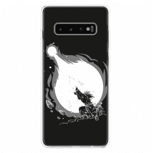 Goku Kamehameha Black & White Samsung Galaxy S10 Case