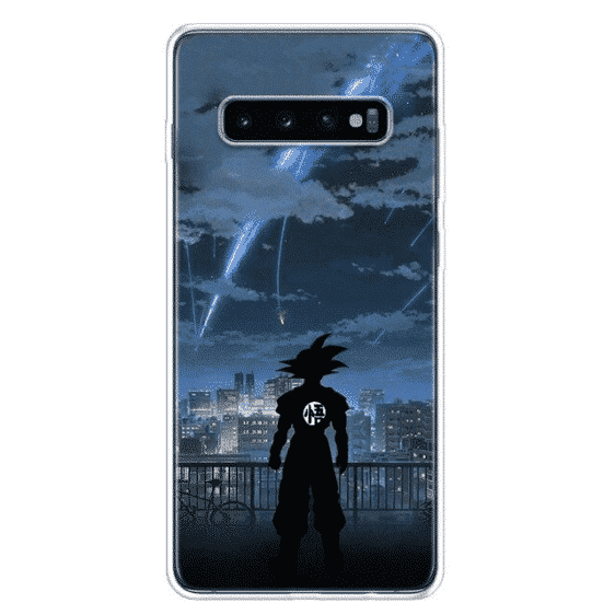 Goku Starry Night Sky Samsung Galaxy S10 Case
