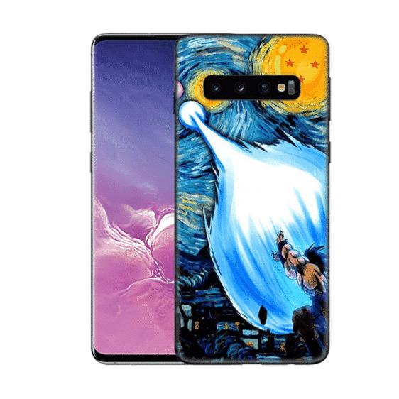 Goku's Kamehameha Samsung Galaxy S10 (S10 Plus & S10E) Case