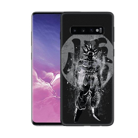 Goku's Silhouette Samsung Galaxy S10 (S10 Plus & S10E) Case
