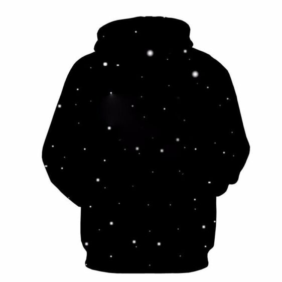 I Need More Space Humorous Quote Astronaut Black Pocket Hoodie - Woof Apparel