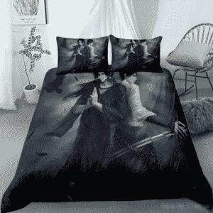 Itachi Uchiha And Sasuke Uchiha Dope Fan Art Bedding Set