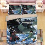 Kakashi Guy Vs Itachi Kisame Water Team Battle Bedding Set