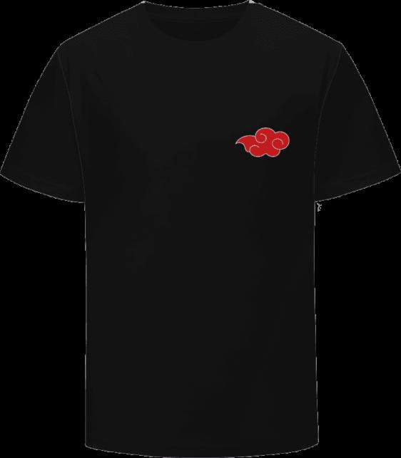 Naruto Anime Akatsuki Daybreak Red Cloud Symbol Logo T-Shirt