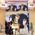 Naruto Half Kyuubi Mode Itachi Sharingan & Sasuke Bedding Set