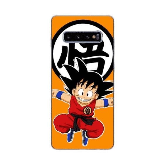 Orange Kid Goku Kanji Symbol Samsung Galaxy S10 Case
