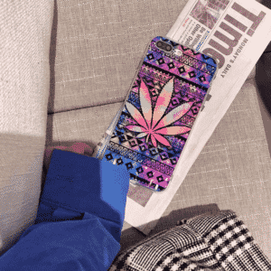 Psychedelic Indica Cannabis iPhone 11 (Pro & Pro Max) Case