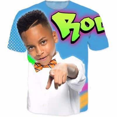 Rocko Rich Fancy Kid Color Theme Funny Trending T-Shirt