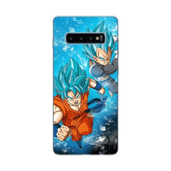 Son Goku & Vegeta Blue Samsung Galaxy S10 Case
