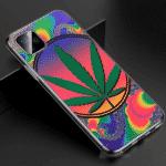 Psychedelic Cannabis Multicolor iPhone 11 (Pro & Pro Max) Case