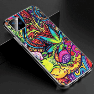 Cannabis Colorful & Trippy iPhone 11 (Pro & Pro Max) Case