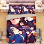 Uchiha & Senju Clan of Konohagakure Vibrant Art Bedding Set