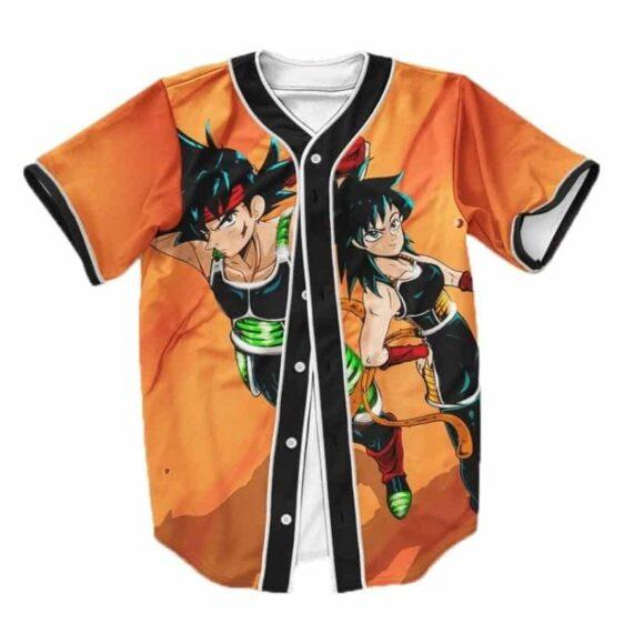 Dragon Ball Z Badass Bardock & Gine Baseball Jersey