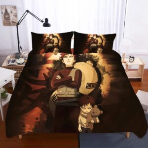 Young & Adult Gaara Jinchūriki One-Tailed Shukaku Bedding Set