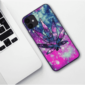 Awesome Weed Modern & Abstract Art iPhone 11 (Pro & Pro Max) Case