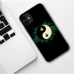 Green Yin and Yang Inspired iPhone 11 (Pro & Pro Max) Case