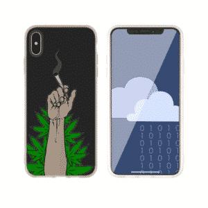 420 Cigarette Arm Raise iPhone 11 (Pro & Pro Max) Case