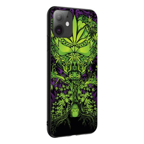 Hippie Lettuce Doodle Art iPhone 11 (Pro & Pro Max) Case