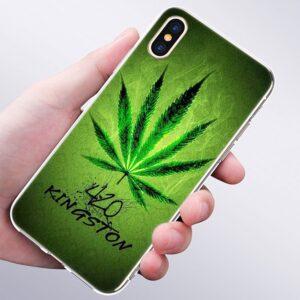420 Kingston Marijuana Leaf IPhone 11 (Pro & Pro Max) Cases