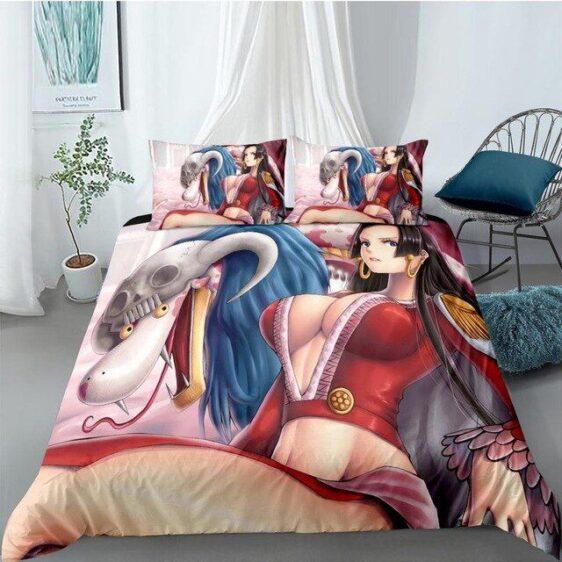 Amazon Lily Snake Princess Boa Hancock And Salome Bedding Set