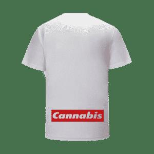 Bob Marley Dreadlocks Portrait Supreme Parody 420 T-Shirt