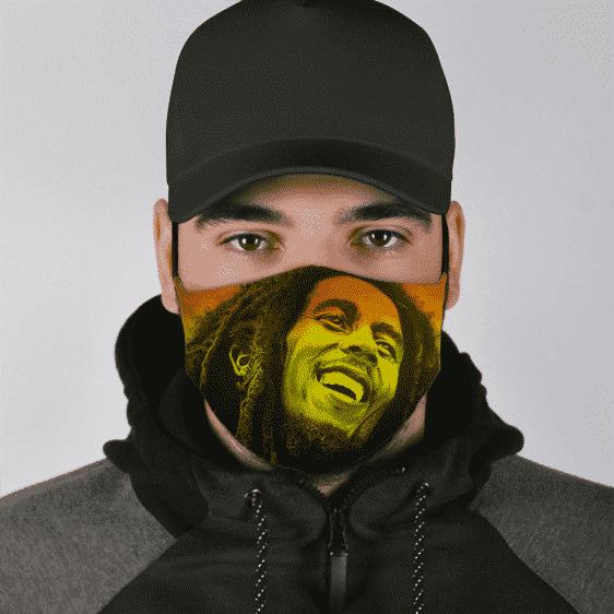 Bob Marley Marijuana Ganja Reggae Dope Cool Awesome Face Mask