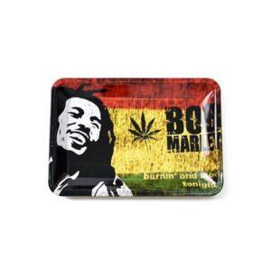 Burnin' and Lootin' Tonight Bob Marley Kush Blunt Rolling Tray